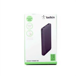 BELKIN-BATTERY-POWER-BANK-POCKET-10000MAH-FOR-SMARTPHONE-TABLET-NEW-F7U039BTBLK