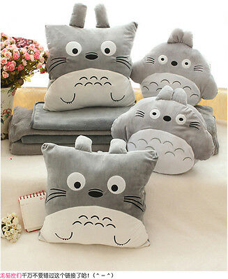 Plush toy gift Totoro chinchilladale mouse Pillow hand warm Blanket Cushion 1pc