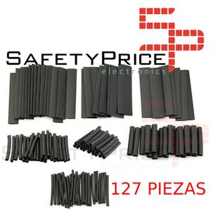 127Pcs-Surtido-Tubo-Termoretractil-de-Color-negro-Aislante-para-cables-7-medidas