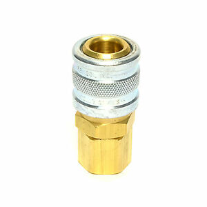 3//8 Female NPT 1//4 Industrial Quick Coupler Connect Air Hose Fittings M MIL I//M