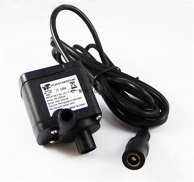 DC 3.5V-12V Submersible Brushless Water Pump for Solar Fountain Cpu Cooling 2.5M