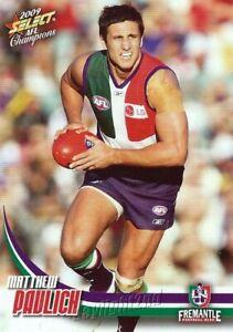 New-2009-FREMANTLE-DOCKERS-AFL-Card-MATTHEW-PAVLICH