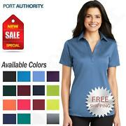 Port Authority Womens Dri-Fit SIlk Touch Performance Polo Golf Shirt M-L540