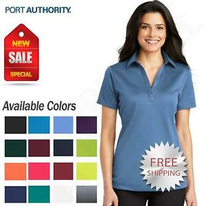 Port-Authority-Womens-Dri-Fit-SIlk-Touch-Performance-Polo-Golf-Shirt-M-L540