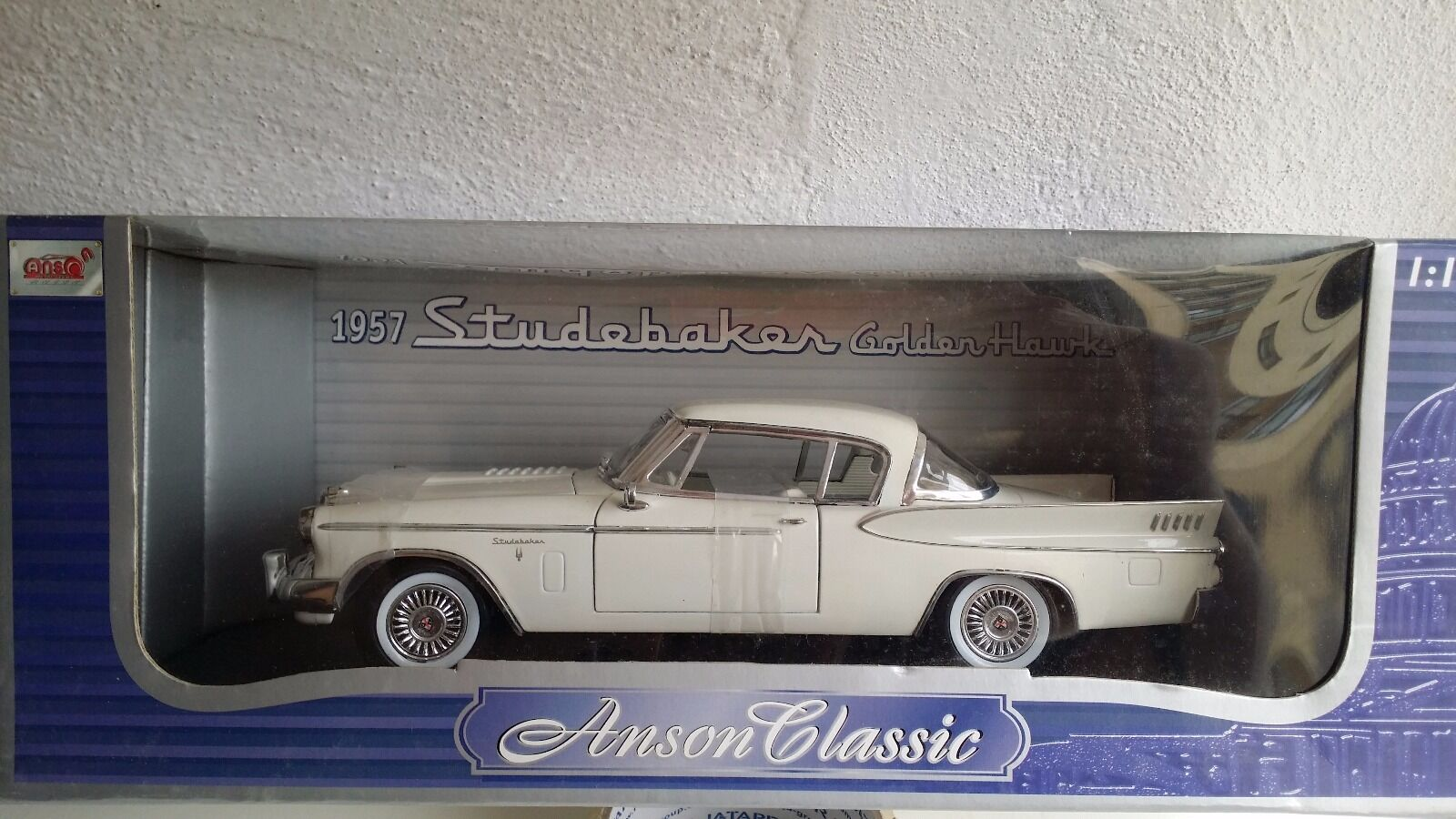 Studebacker oroen Hawk 1957 Anson 1 18 (very rare)