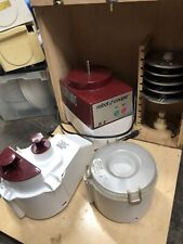 Robot Coupe R2 Food Processor 3 Qt Bowl Continuous Feed Amp 6 Discblade