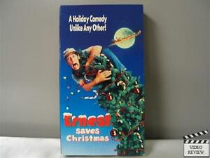 Ernest Saves Christmas...A Christmas Story Vhs 1996