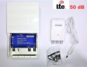 Amplificador-de-mastil-TDT-alimentador-ROVER-50-dB-LTE
