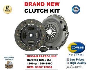 Pour-Nissan-Patrol-III-2-Hardtop-K260-2-8-120bhp-1986-1990-Clutch-Kit-30001T8094