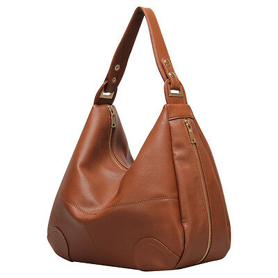 Women Shoulder Hobo Lady Quality PU Leather Messenger Crossover Carry-all Bag