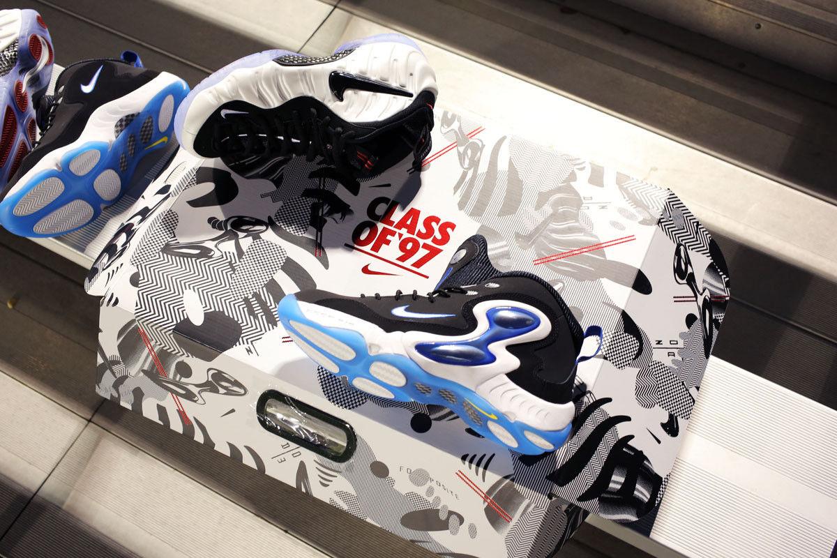 Nike 'He Got Game' Class of 97 Pack Foamposite Pro Zoom Hawk Flight 808643-100