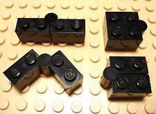 Lego Legos Set of 4 NEW Round Brick  2x2x1 Dome DARK BLUISH GRAY 2005 6-12