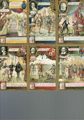 Liebig-Serie Nr 672 Berühmte Tragödien