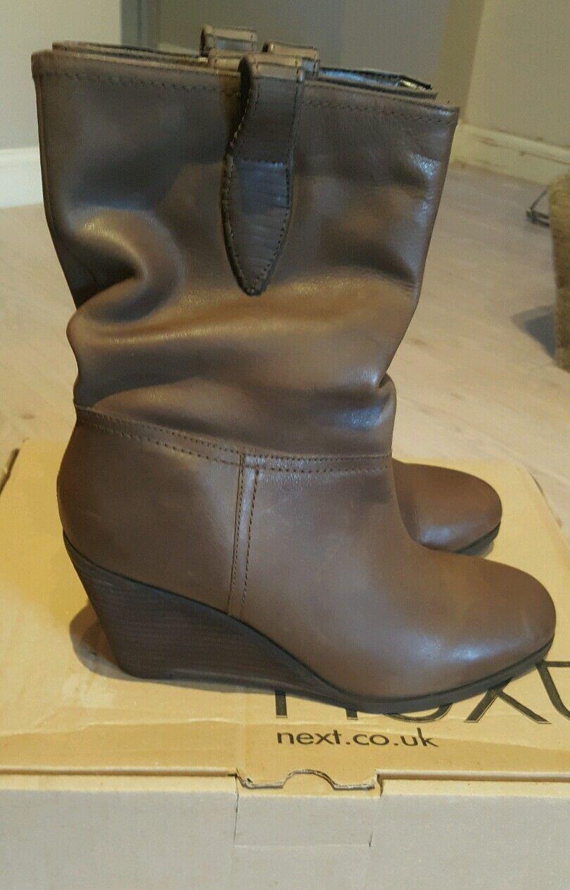 Ladies women's boots by Next, size 6, Brown, BNIB
