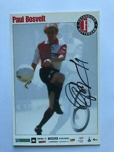 Autogramm PAUL BOSVELT-Feyenoord Rotterdam-NS HOLLAND-ManchesterCity/Twente-AK