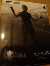 FINAL FANTASY XV 15 PROMPTO ARGENTUM PLAY ARTS KAI FIGURE - NEW AND SEALED