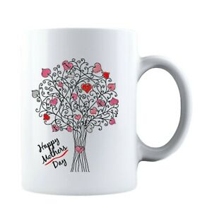 Happy Mothers Day Mothers Day Idea Funny Life Mom Ceramic Coffee Mug Tea Cup