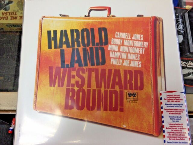 HAROLD LAND WESTWARD BOUND! UNRELEASED 2 180g LPs LIMITED TO 1500 RSD 2021 NEW