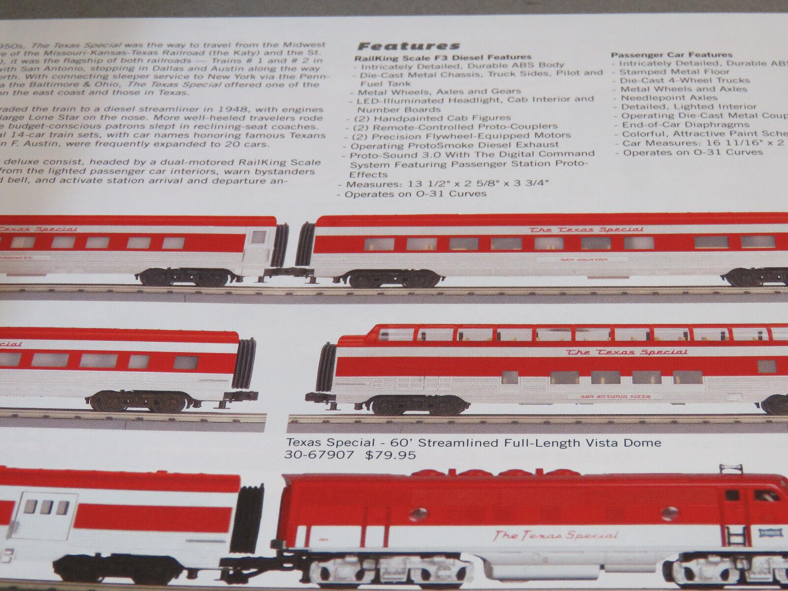 MTH Electric Trains 2016 Volume 2 Catalog for RAILKING & Premier O Gauge  Trains
