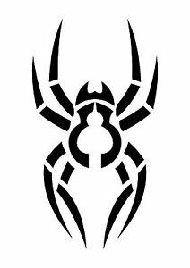 Garden-Wolf-Spider-Stencil-350-micron-Mylar-not-thin-stuff-TaT0117