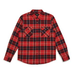 BRIXTON-BOWERY-L-S-FLANNEL-SHIRT-RED-NAVY