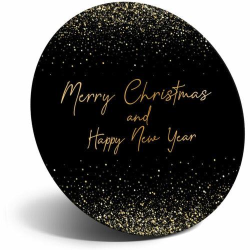 Super Aimant de réfrigérateur-Joyeux Noël et Bonne Année Cool Cadeau #24562