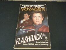 Star Trek Voyager: Flashback by Diane L. Carey (1996, Paperback)