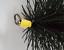thumbnail 3 - CFC041 200mm/8 inch dia Polypropylene Pull Thru Flue Mini Brush 100mm long