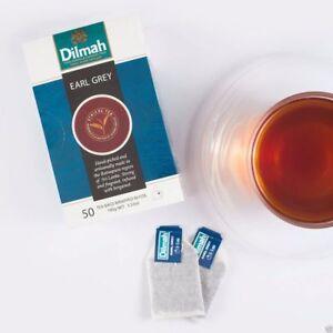 Le Meilleur Earl Grey 50 Sachets De Thé Dilmah Pure Ceylon Tea-afficher Le Titre D'origine Sans Retour