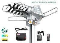 Attic Outdoor Tv Antenna Long Range Digital Hdtv Amplified Wireless Remote