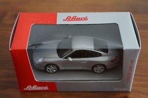 SCHUCO-Porsche-911-997-coupe-Grey-1-43-box