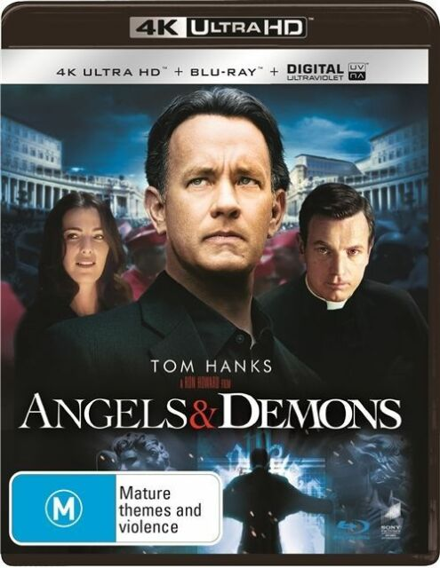 Angels & Demons 4K Ultra HD : NEW UHD Blu-Ray