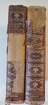 Antique Book-HISTORY OF THE UNITED STATES-James Garner Henry Cabot Lodge C1906