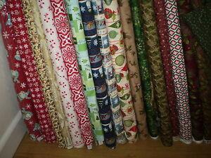 ** SALE *** Christmas fabrics