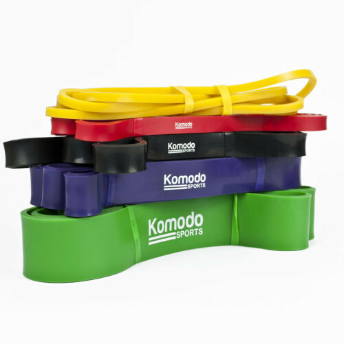 KOMODO Resistance Bands Exercise Stretch Fitness Loop for Yoga Physio Workout