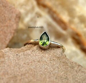 Solid-925-Sterling-Silver-Ring-Anxiety-Silver-Ring-Handmade-Peridot-Ring
