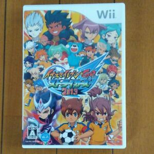 Wii Inazuma Eleven Go Strikers 2013 Nintendo Wii Game Football Soccer Futbol New Ebay