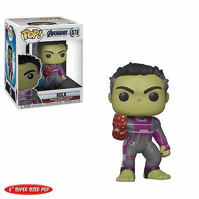 """Funko Pop! Marvel: Avengers Endgame 6"""" Hulk with Gauntlet 478 39743 In stock"""