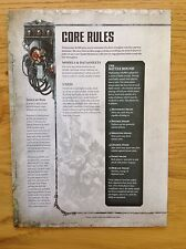 Warhammer 40K Dark Imperium 8th Edition Core Rules The Rules Rulebook