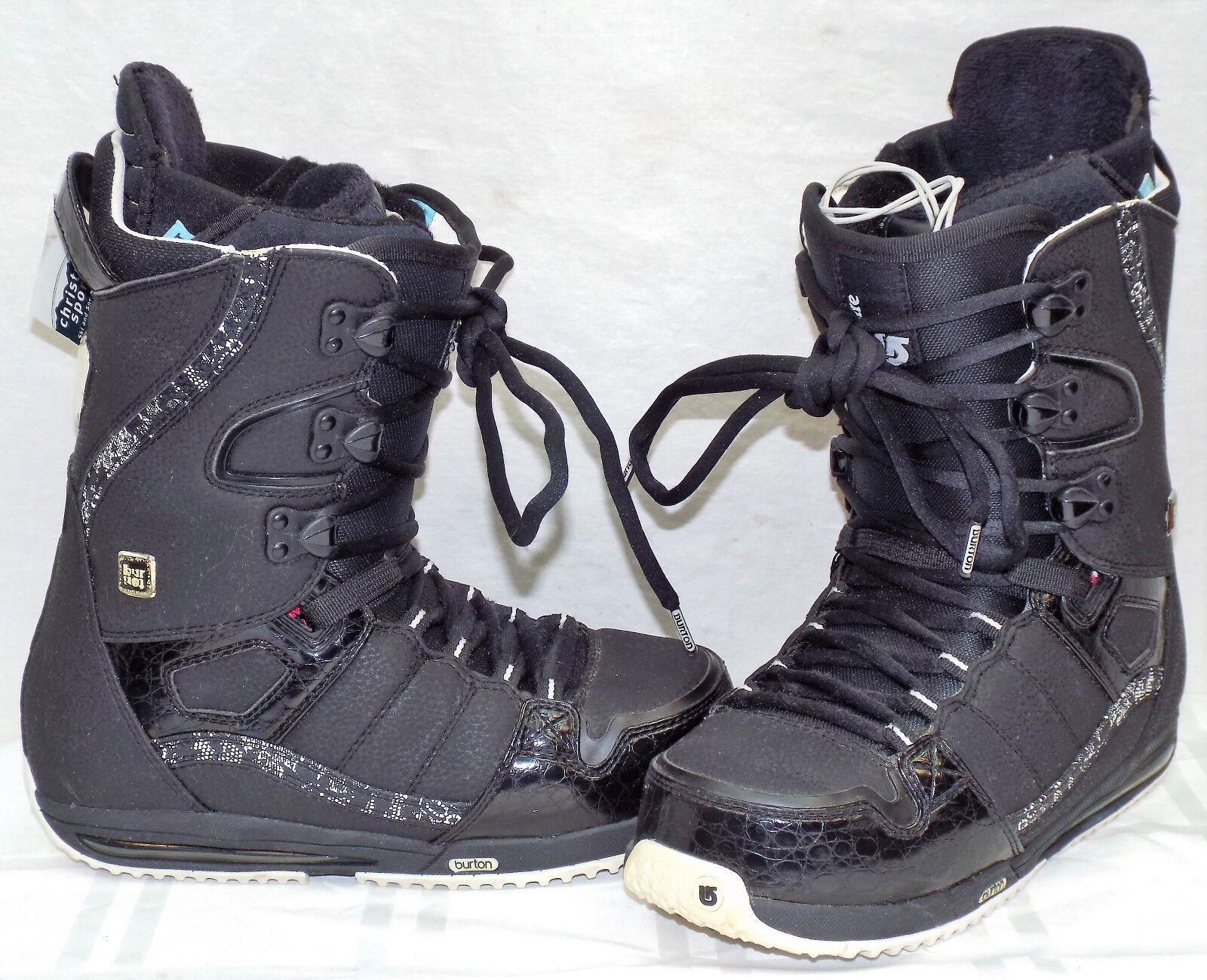 934b9fe6e174c Burton Sapphire Women s Snowboard Boots Size 7.5 Used nomtak4555 ...