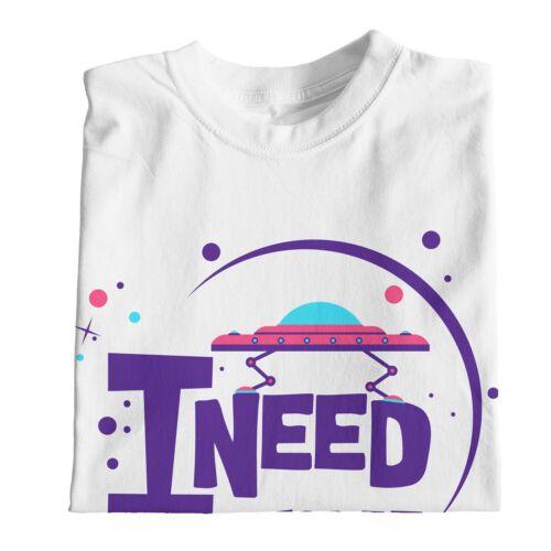 1Tee Womens I Need My Space Sci-Fi T-Shirt