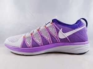 competitive price 09b82 81b23 Image is loading Nike-Flyknit-Lunar2-Women-039-s-Running-Shoe-