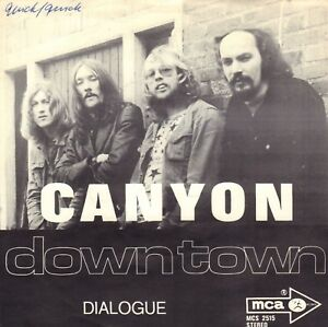 CANYON-Down-Town-1971-DUTCH-PROG-ROCK-VINYL-SINGLE-7-034