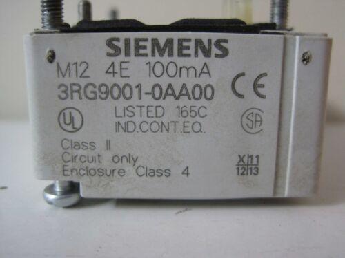 Siemens Simatic as-I módulo entrada 4de ip67-3rg9001-0aa00