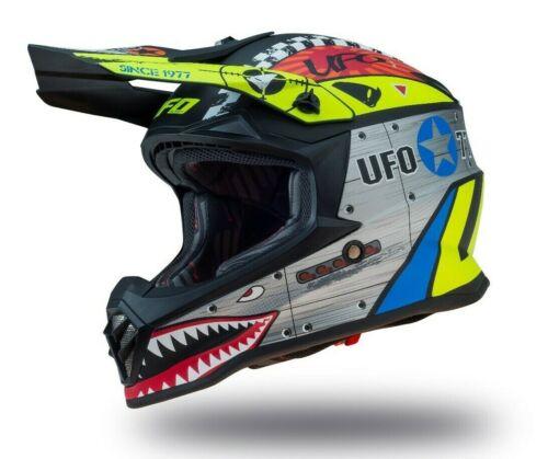 UFO Kids Youth Motocross Helmet Bomber 2020 Medium 51-52cm
