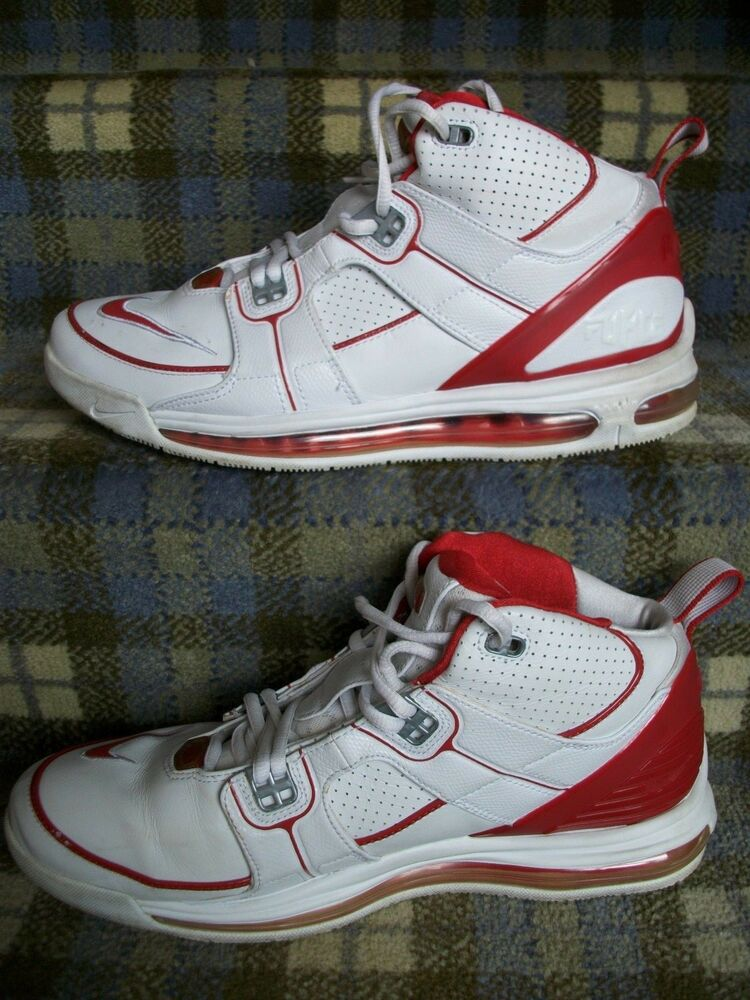 Vintage Nike Air Total Force Max Basketball Chaussures-UK 9.5 - EU 44.5 - US 10.5-