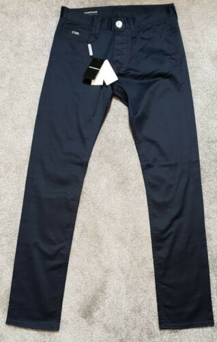Armani Bleu Emporio Authentic 6x1j75 Pantalon Fit Marine 1natz Slim 100 dxx78q1