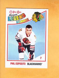 2010-11-O-PEE-CHEE-PHIL-ESPOSITO-MARQUEE-LEGEND-561-CHICAGO-BLACKHAWKS