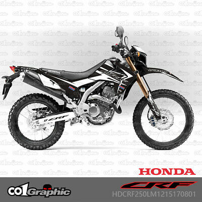 Accessories CRF250L 2012-2016 GRAPHICS DECALS STICKERS FULL KIT ...