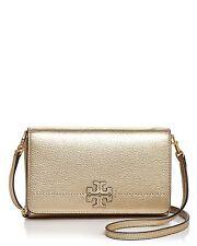6fb74528324 item 2 New Tory Burch McGRAW Flat Wallet Leather Crossbody Bag WOC Metallic  GOLD  298+ -New Tory Burch McGRAW Flat Wallet Leather Crossbody Bag WOC  Metallic ...